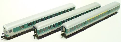 Minitrix 15392 Regional-Express-Set white/green