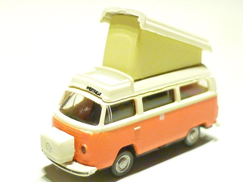 Lemke LC 3881 VW T2 Bus Camper orange