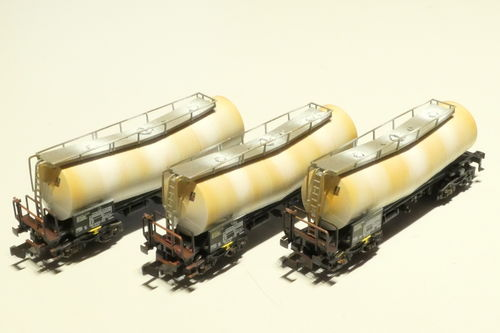 Fleischmann 846005 DB AG 3. piece set tank car