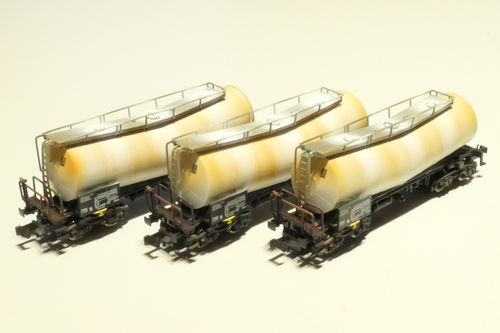 Fleischmann 846006 DB AG 3. piece set tank car