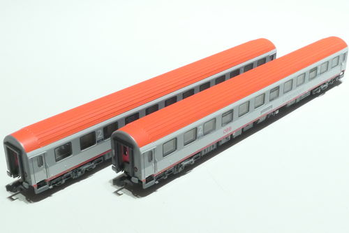 LS-Models 77061 ÖBB 2x lying dare gray/gray/red