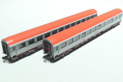 LS-Models 77050 ÖBB 2x lying dare gray/gray/red
