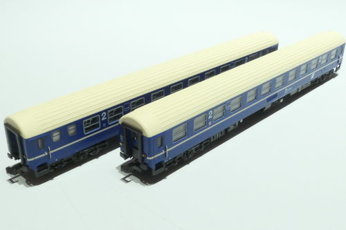LS-Models 77052 ÖBB 2x lying dare blue