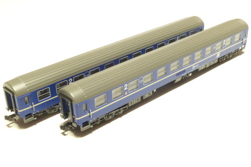 LS-Models 77055 ÖBB 2x lying dare blue