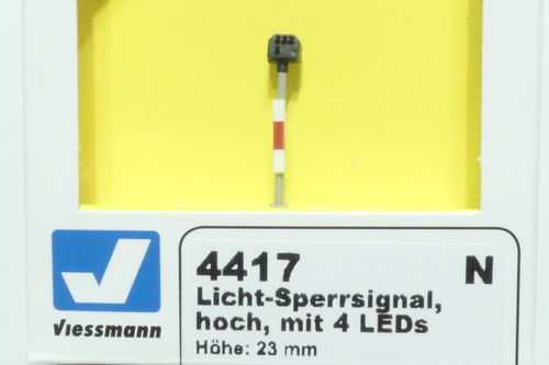 Viessmann 4417 light blocking signal long green