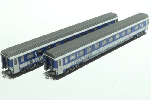 LS-Models 77151 ÖBB 2x lying dare blue/gray