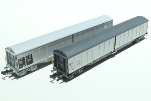 Hobbytrain H23460 SBB 2x sliding wall car
