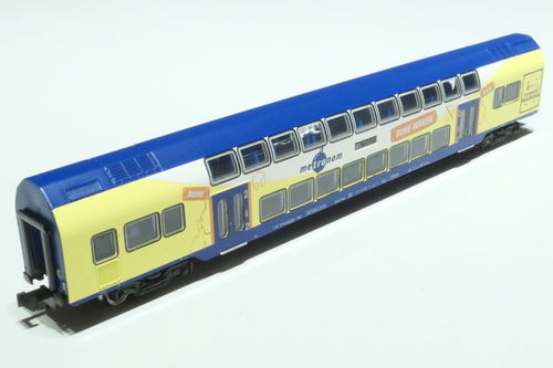 Minitrix 15946 DB/Metronom double-deck car