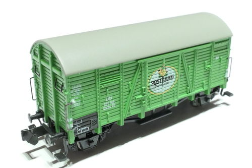 Hobbytrain H24914 DB box car green