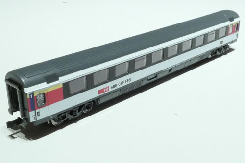 Minitrix 15671 SBB 1. Kl. IC passenger  car