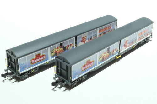 Hobbytrain H23456 SBB 2x sliding wall car