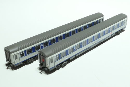 LS-Models 77181 ÖBB 2x lying dare blue/gray