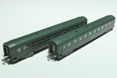 REE Models NW-153 CFL 2x passenger car