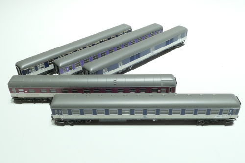 Minitrix 15473 DB 5piec. set pop car train D 730