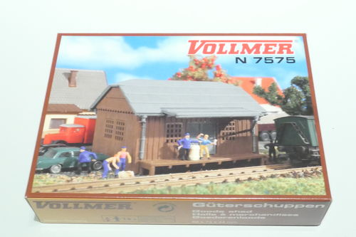 Vollmer 47575 Freight shed kit
