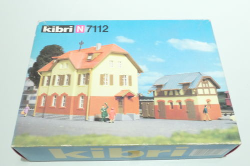 Kibri 7112 Kibri 7112 Kit Railroad House