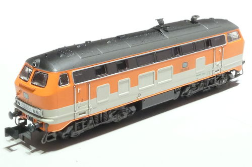 Minitrix 16280 DB 218 143-6 CityBahn orange gray